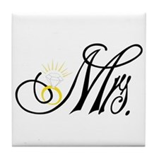 Mrs. Tile Coaster