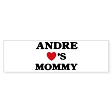 Andre loves mommy Bumper Bumper Sticker