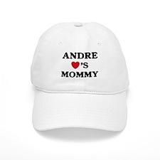 Andre loves mommy Baseball Cap