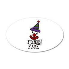 FUNNY FACE Wall Decal