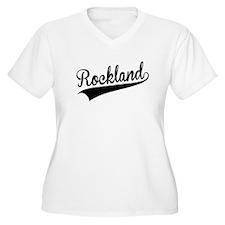 Rockland, Retro, Plus Size T-Shirt