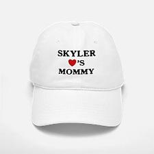 Skyler loves mommy Baseball Baseball Cap