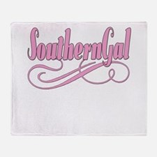 Southern Gal Throw Blanket