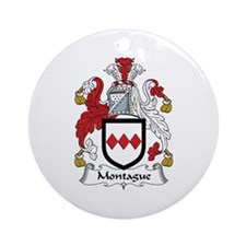 Montague Ornament (Round)