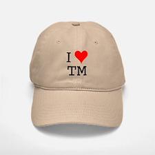 I Love TM Baseball Baseball Cap