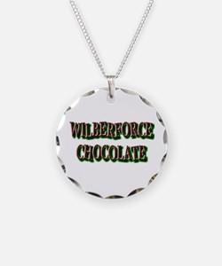 WILBERFORCE HBCU CHOCOLATE Necklace