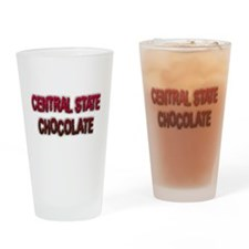 CENTRAL STATE CHOCOLATE Drinking Glass