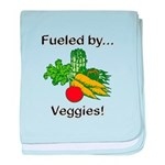 Fueled by Veggies baby blanket