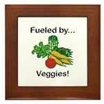 Fueled by Veggies Framed Tile