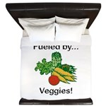 Fueled by Veggies King Duvet