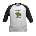 Fueled by Veggies Kids Baseball Jersey