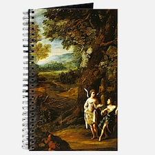 van der Neer - Hagar Ishmael in the Desert - 1697