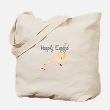 Happily Engaged Tote Bag