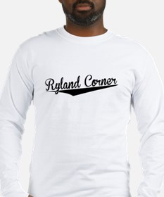 Ryland Corner, Retro, Long Sleeve T-Shirt