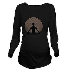 Namaste-toap Long Sleeve Maternity T-Shirt