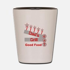 Dad's Grill Shot Glass