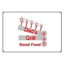 Dad's Grill Banner