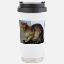The Loggia Kitty Stainless Steel Travel Mug