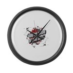 Youre made of music Large Wall Clock