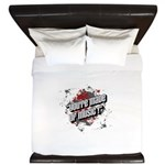 Youre made of music King Duvet
