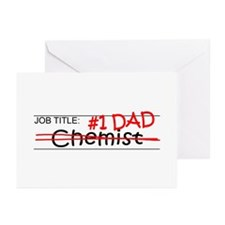 Job Dad Chemist Greeting Cards (Pk of 20)