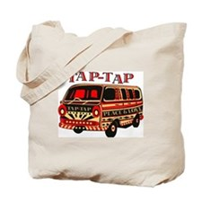 tap tap1 RED COMBO_2 Tote Bag