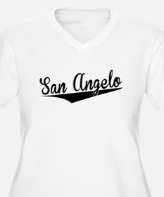 San Angelo, Retro, Plus Size T-Shirt