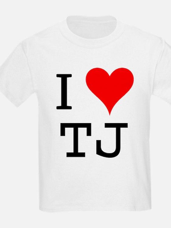 I Love TJ T-Shirt