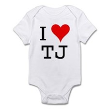 I Love TJ Infant Bodysuit