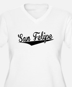 San Felipe, Retro, Plus Size T-Shirt