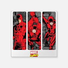 """Daredevil Panels Square Sticker 3"""" x 3"""""""