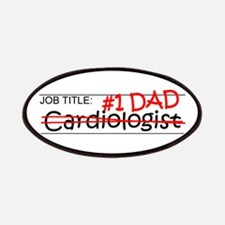 Job Dad Cardiologist Patches