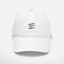 Colored Crayons Baseball Baseball Baseball Cap