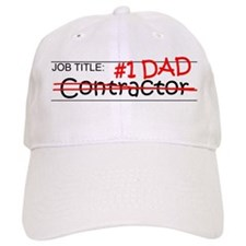 Job Dad Contractor Baseball Cap