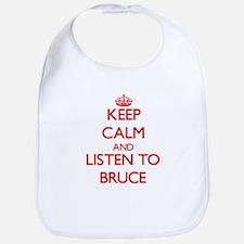 Keep Calm and Listen to Bruce Bib