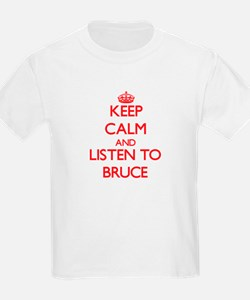 Keep Calm and Listen to Bruce T-Shirt