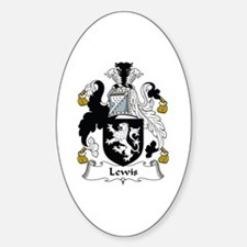Lewis I (Wales) Oval Decal