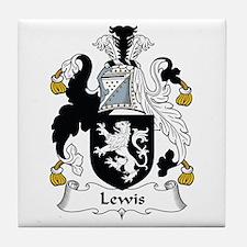 Lewis I (Wales) Tile Coaster