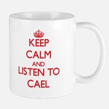 Keep Calm and Listen to Cael Mugs