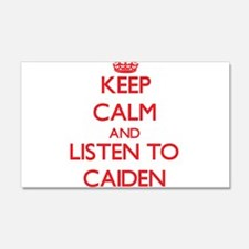 Keep Calm and Listen to Caiden Wall Decal