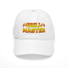Grill Master Shirt Baseball Baseball Cap