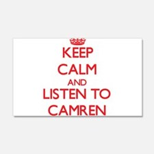 Keep Calm and Listen to Camren Wall Decal