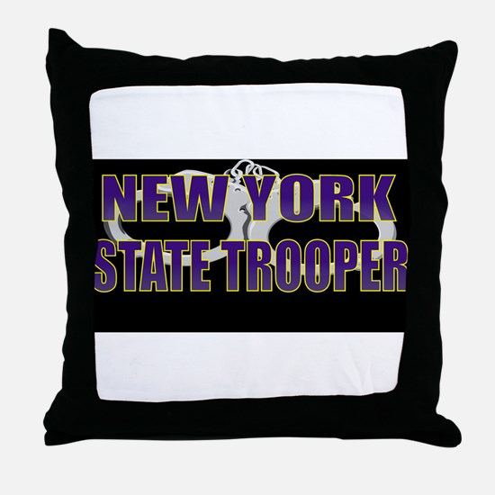 Funny Yankees Throw Pillow