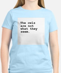 The Owls Are Not What They Seem Twin Peaks T-Shirt