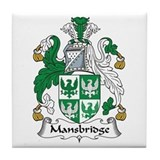 Mansbridge family crest Drink Coasters