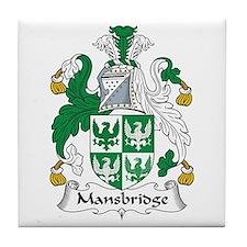 Mansbridge Tile Coaster