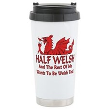 Unique Welsh Travel Mug
