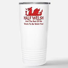 Cute Welsh Travel Mug
