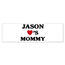 Jason loves mommy Bumper Bumper Sticker