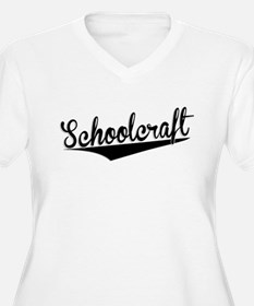 Schoolcraft, Retro, Plus Size T-Shirt